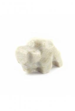 Zuni Fetisch Marmor Büffel