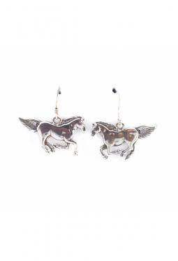 Ohrhänger Silberpferde