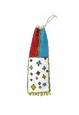Pfeifenbeutel Pipebag klein Lakota