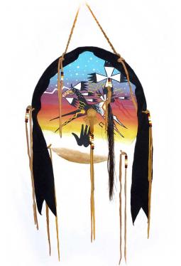 Lakota Medicine Horse Shield - Schutzschild Medi..