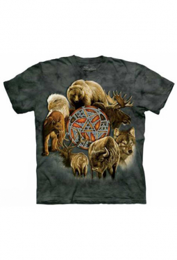 Animal Spirit Circle - The Mountain - T Shirt