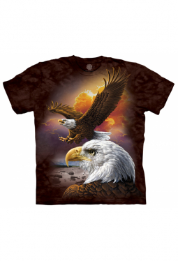 Eagle & Clouds - The Mountain - T Shirt