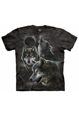 Eclipse Wolves - The Mountain - T Shirt