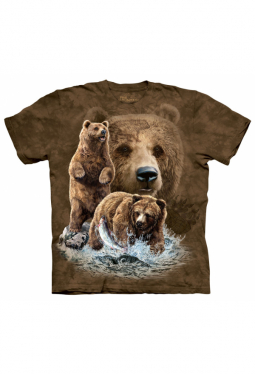 Find 10 Brown Bears - The Mountain - T Shirt