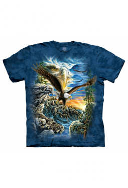Find 11 Eagles - The Mountain - T Shirt
