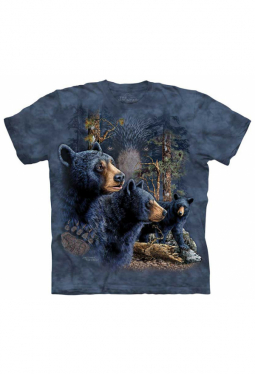 Find 13 Black Bears - The Mountain - T Shirt