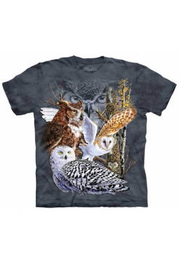 Find 11 Owls - The Mountain - T Shirt
