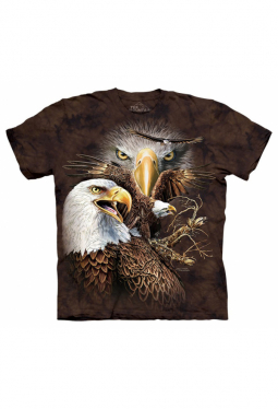 Find 14 Eagles - The Mountain - T Shirt