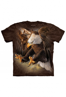 Freedom Eagle - The Mountain - T Shirt
