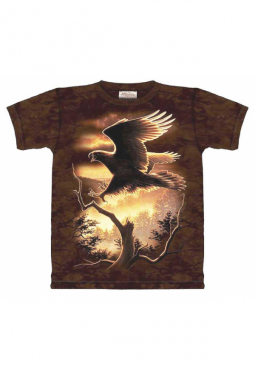 Golden Eagle - The Mountain - T Shirt