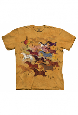 Horses And Sun - The Mountain - T Shirt