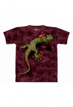 Peace Out Gecko - The Mountain - T Shirt