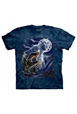 Wolf Spirit Moon - The Mountain - T Shirt