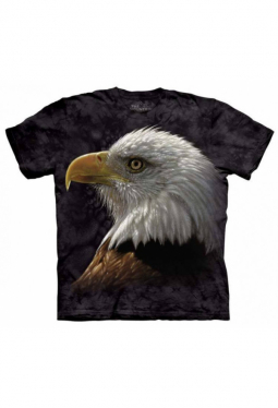 Bald Eagle Portrait - The Mountain - T Shirt