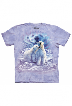 Find 10 Polar Bears - The Mountain - T Shirt
