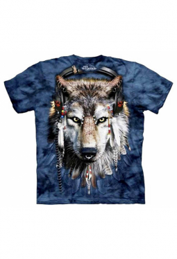 DJ Fen Wolf - The Mountain - T Shirt