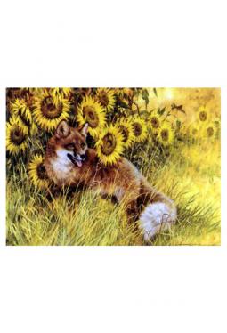 Sitting In The Sunnies - Kunstkarte 14 cm x 18 cm