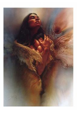Sacred Bond 2 - Kunstkarte 14 cm x 18 cm - Gratu..