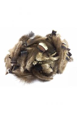 Truthahn Fluffies - Bastelfedern - 50 bis 60 Gramm