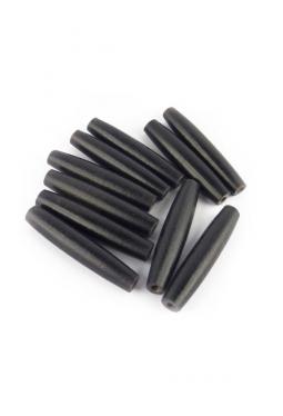 Hairpipes schwarz - 5 cm - 10 Stück