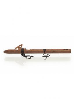 A Mol - Nussbaum Holz - Indianische Flöte