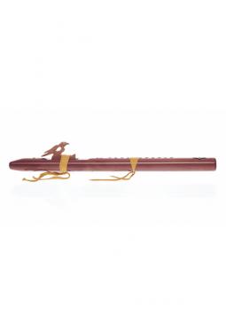 A Mol - Zedernholz mit Türkis - Indianische Flöte