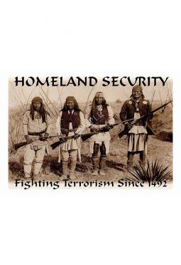 """""""Homeland Security"""" Geronimo - Postkarte"""