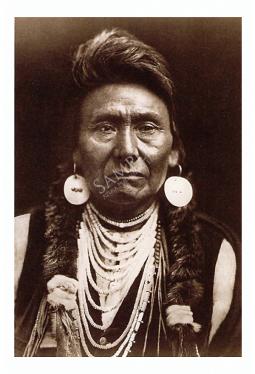 Chief Joseph - Postkarte