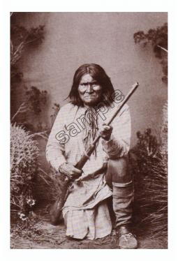 Geronimo - Postkarte