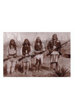 Geronimo's Band - Postkarte