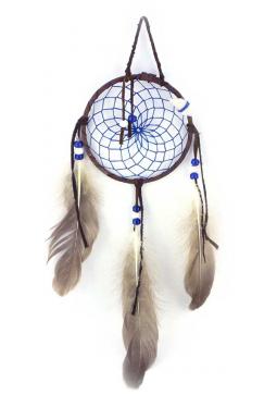 Navajo Traumfänger 11 cm - Dunkelblau