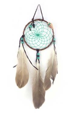 Navajo Traumfänger 11 cm - grün