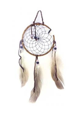 Navajo Traumfänger 11 cm - schwarz