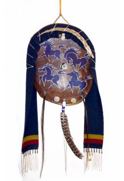 Lakota Horse Shield - Pferde Schild