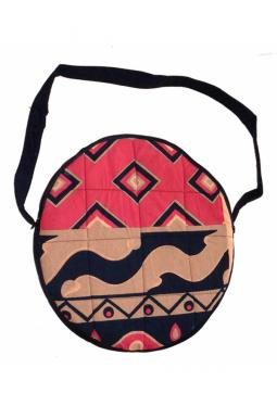 Trommeltasche bis 40 cm - batik