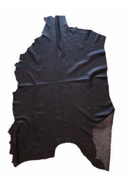 Hirschleder ganz fein - dunkelbraun 10.5 sf/0.97m2