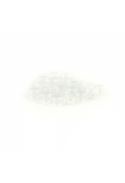 Crow Beads kristall transparent 9 mm Glasperlen ..