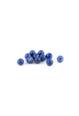 Halbedelstein Lapis Lazuli rund 6mm