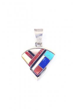 Anhänger Multicolor Inlay Navajo (2)