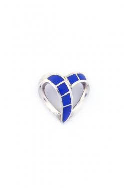 Anhänger Herz mit Lapis Lazuli