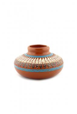 Navajo Red Clay Pottery - 12 cm x 7 cm