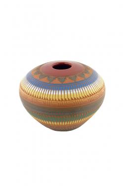 Navajo Red Clay Pottery - 11 cm x 15 cm
