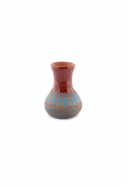 Navajo Red Clay Pottery rot - 5.5 cm x 7.5 cm