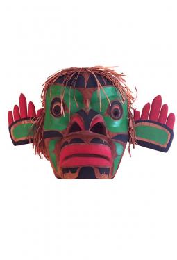 Maske Jimmy Joseph Kwakiutl Omakin North-West-Co..