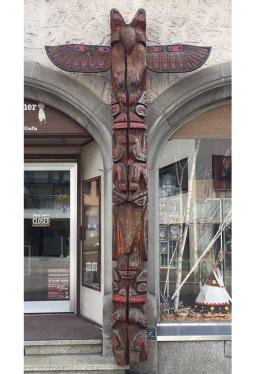Totem Pfahl - 3.80 m hoch und 40 cm Durchmesser