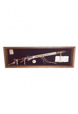 Sammlerstück - Pfeifen Replica- Display aus Eichenholz